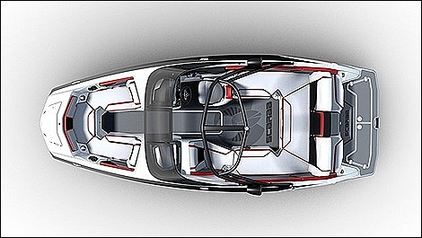2014 Scarab boat for sale, model of the boat is 215 HO Impulse & Image # 14 of 16