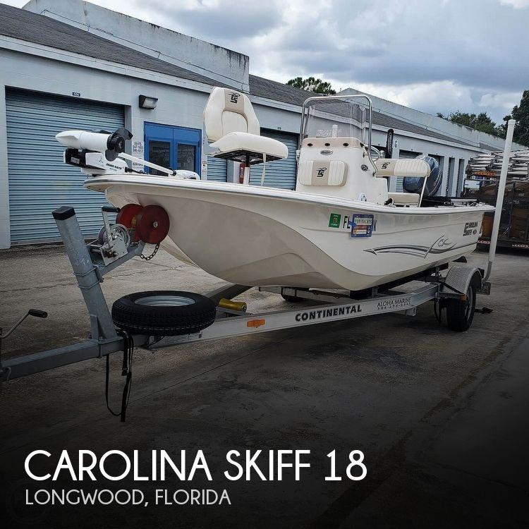 2017 CAROLINA SKIFF JVX 18 for sale