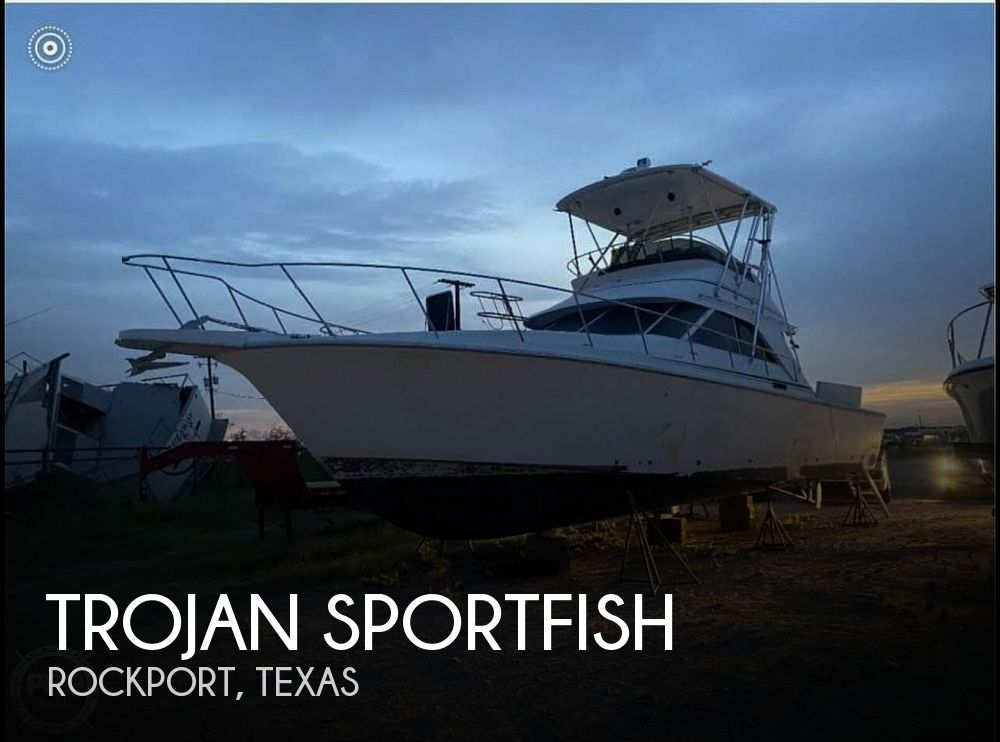 1991 Trojan boat for sale, model of the boat is Sportfish & Image # 1 of 40