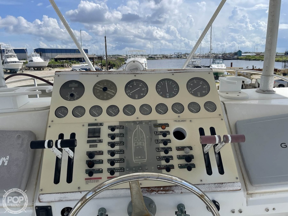 1991 Trojan boat for sale, model of the boat is Sportfish & Image # 38 of 40