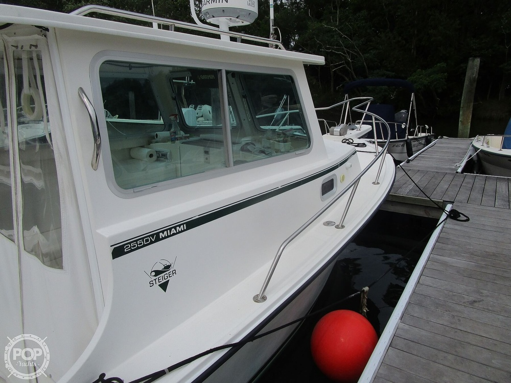 2009 Steiger Craft boat for sale, model of the boat is 255DV Miami & Image # 2 of 40