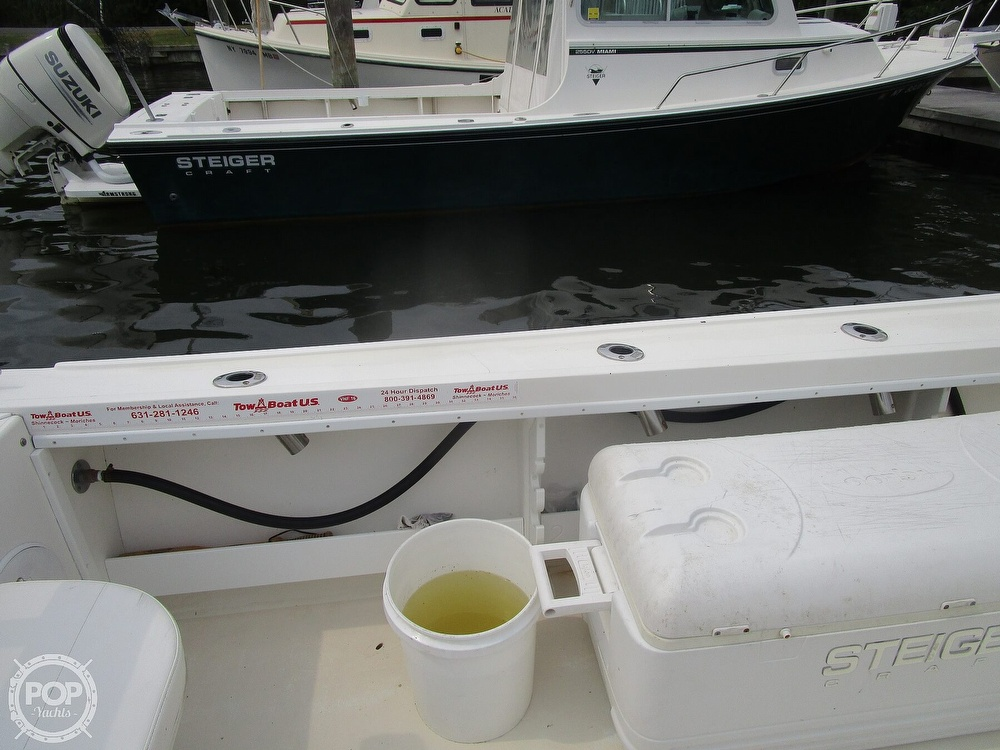 2009 Steiger Craft boat for sale, model of the boat is 255DV Miami & Image # 23 of 40