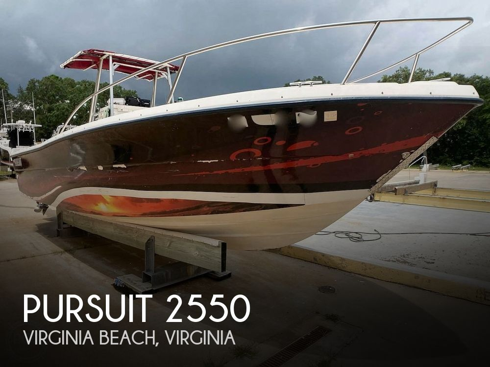 1987 Pursuit boat for sale, model of the boat is 2550 & Image # 1 of 40
