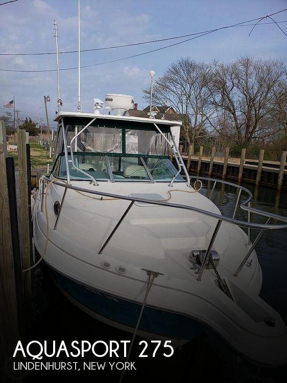 2001 Aquasport boat for sale, model of the boat is Explorer 275 & Image # 1 of 40