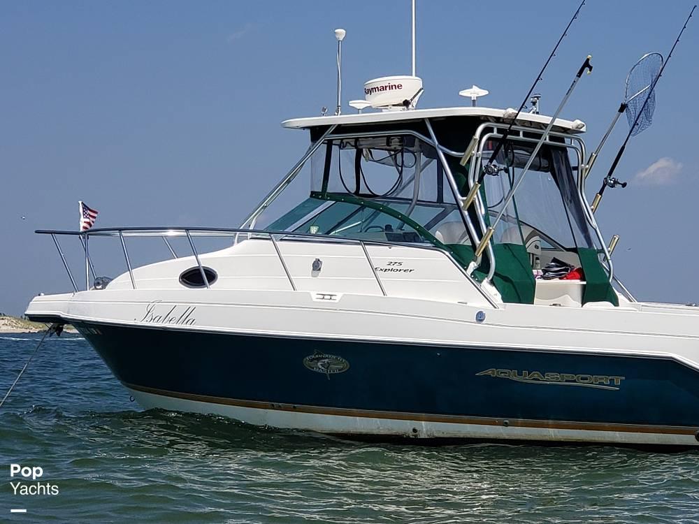 2001 Aquasport boat for sale, model of the boat is Explorer 275 & Image # 2 of 40