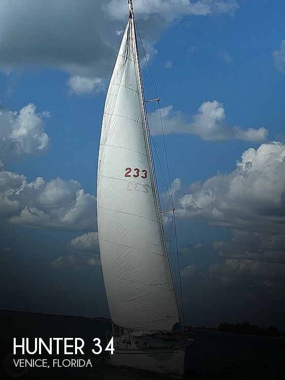 1986 Hunter boat for sale, model of the boat is 34 & Image # 1 of 40