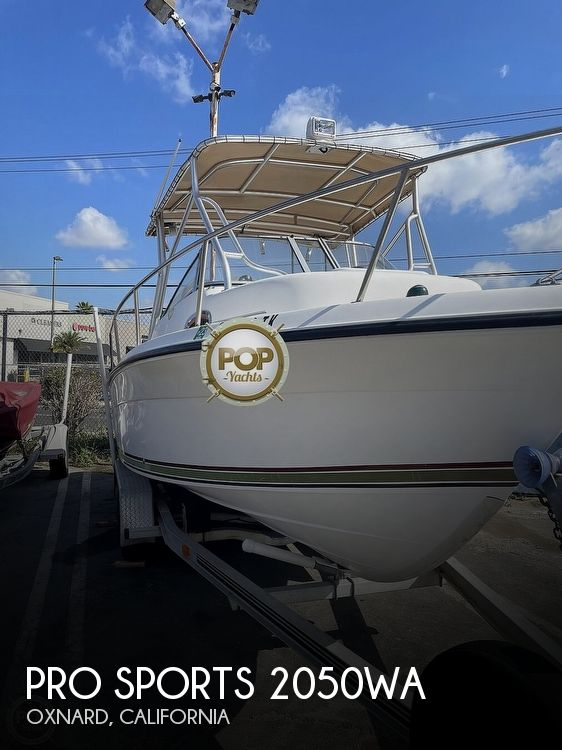 Used Pro Sports Boats For Sale by owner | 2004 Pro Sports 2050WA