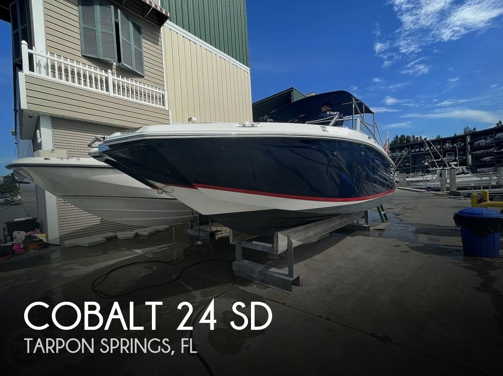 2013 Cobalt boat for sale, model of the boat is 24 SD & Image # 1 of 40