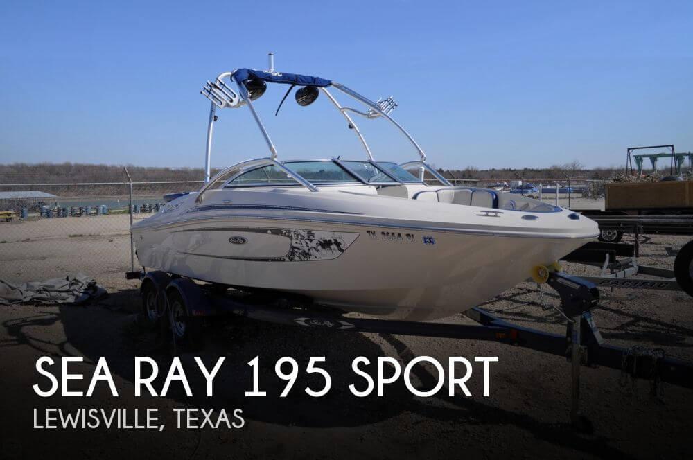 2010 Sea Ray 195 Sport | 2010 Sea Ray 195 Sport - Photo #1