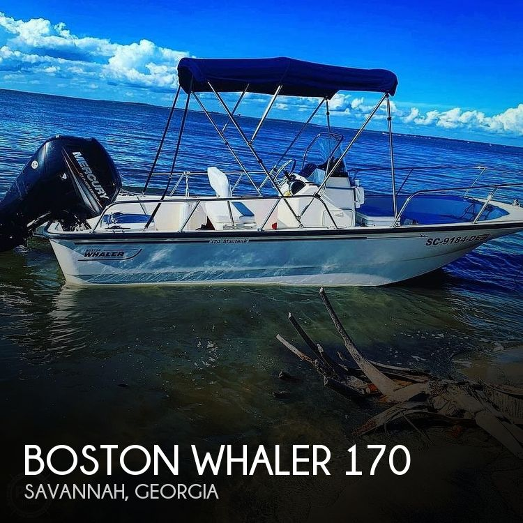 Used Boston Whaler 17 Boats For Sale by owner | 2016 Boston Whaler Montauk 170