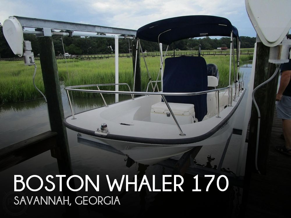 2016 Boston Whaler boat for sale, model of the boat is Montauk 170 & Image # 1 of 40