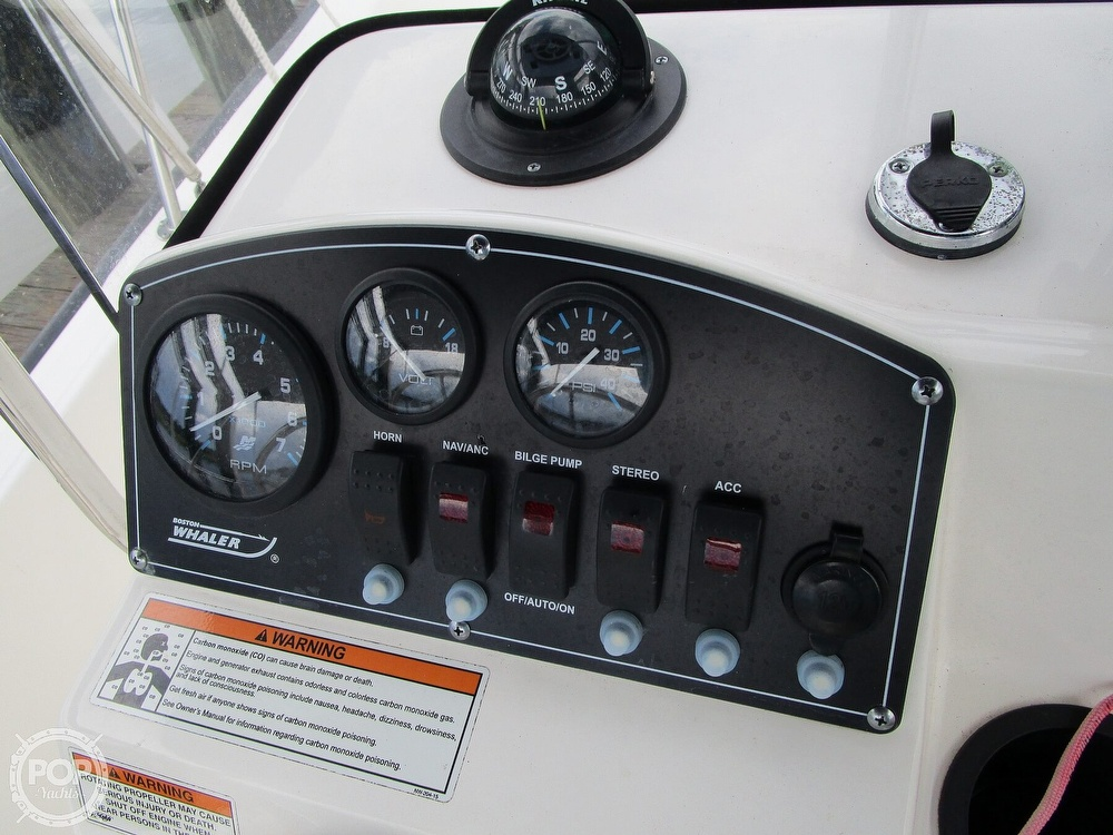 2016 Boston Whaler boat for sale, model of the boat is Montauk 170 & Image # 22 of 40