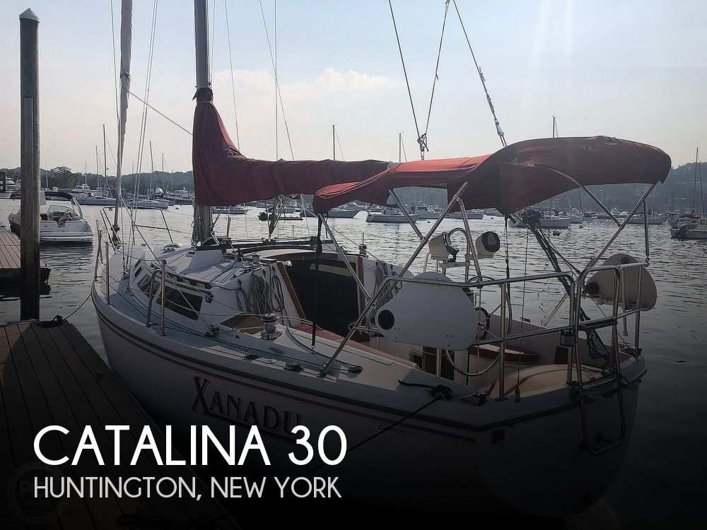 1988 Catalina Yachts boat for sale, model of the boat is 30 Tall Rig & Image # 1 of 40