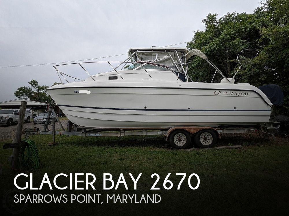 1999 GLACIER BAY 2670 ISLE RUNNER for sale