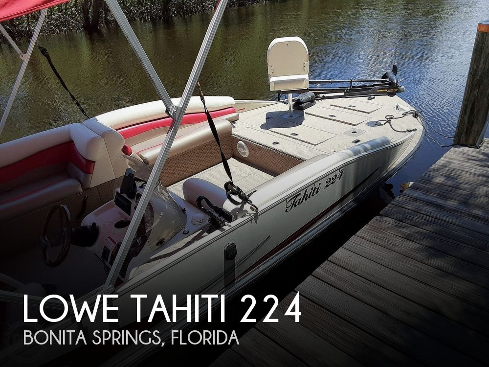 2006 Lowe boat for sale, model of the boat is Tahiti 224 & Image # 1 of 40