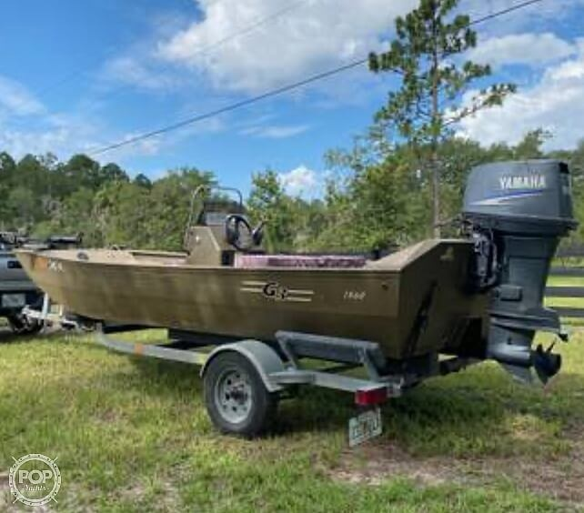 2003 G3 Boats boat for sale, model of the boat is 1860 C/C Tunnel Hull & Image # 2 of 8