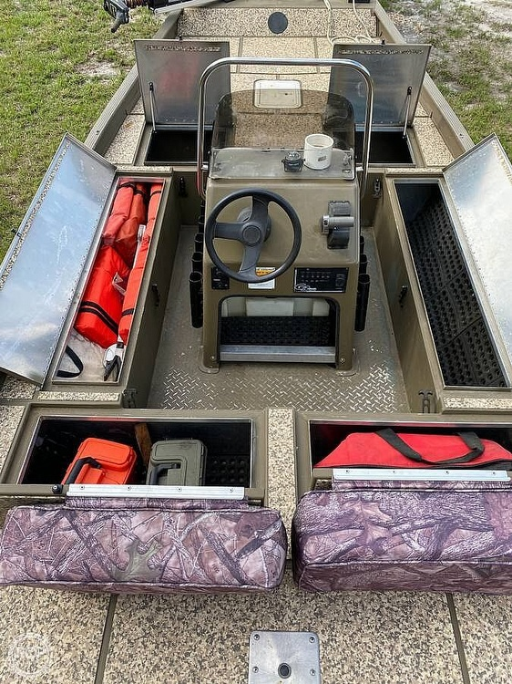 2003 G3 Boats boat for sale, model of the boat is 1860 C/C Tunnel Hull & Image # 7 of 8