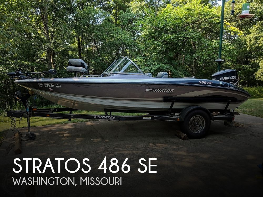 2008 Stratos boat for sale, model of the boat is 486 SE & Image # 1 of 40