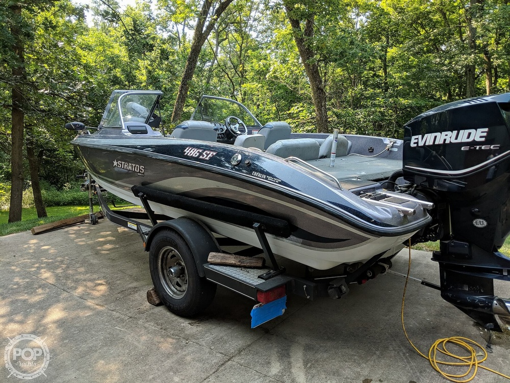 2008 Stratos boat for sale, model of the boat is 486 SE & Image # 6 of 40