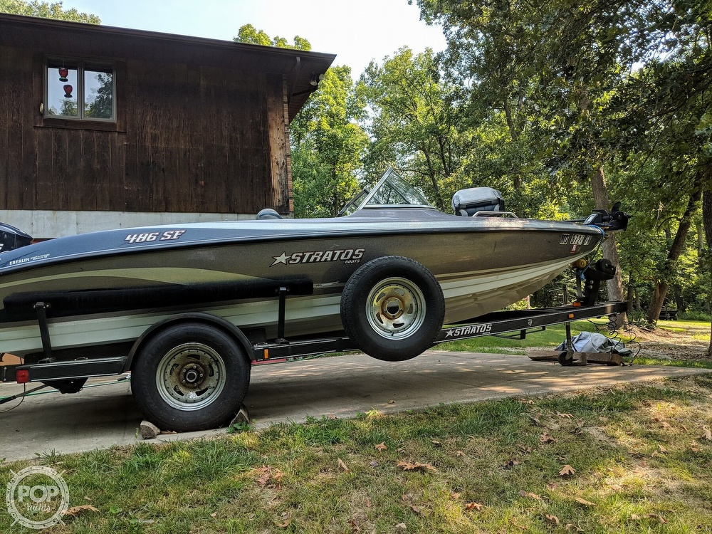 2008 Stratos boat for sale, model of the boat is 486 SE & Image # 8 of 40