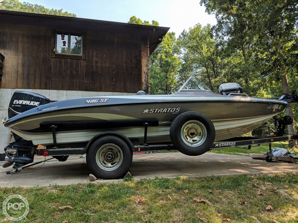 2008 Stratos boat for sale, model of the boat is 486 SE & Image # 19 of 40