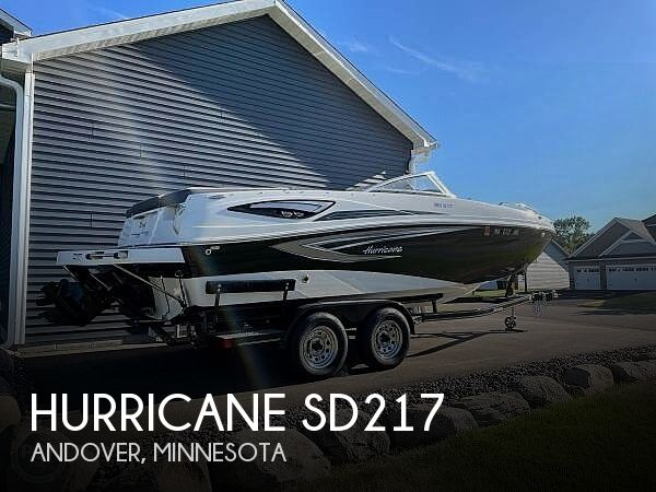 2020 Hurricane boat for sale, model of the boat is sd217 & Image # 1 of 14