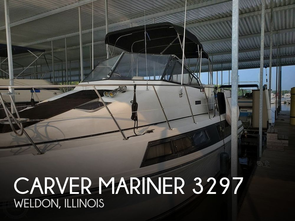 1989 Carver boat for sale, model of the boat is Mariner 3297 & Image # 1 of 40