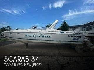 1986 Scarab boat for sale, model of the boat is 34 & Image # 1 of 18
