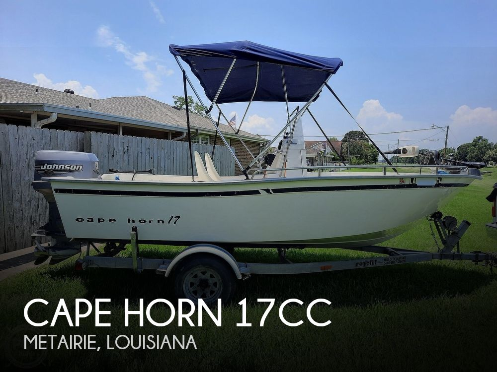2000 Cape Horn boat for sale, model of the boat is 17cc & Image # 1 of 40