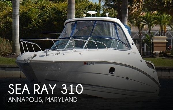 2010 Sea Ray boat for sale, model of the boat is 310 Sundancer & Image # 1 of 21