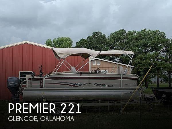 2016 Premier Pontoons boat for sale, model of the boat is 221 explorer & Image # 1 of 14