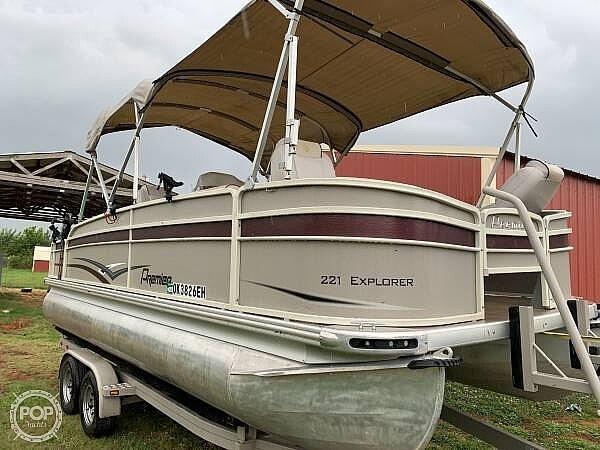 2016 Premier Pontoons boat for sale, model of the boat is 221 explorer & Image # 2 of 14