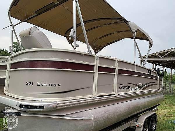 2016 Premier Pontoons boat for sale, model of the boat is 221 explorer & Image # 3 of 14