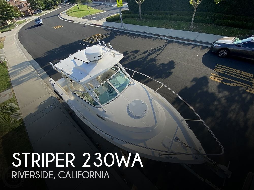 2017 Striper boat for sale, model of the boat is 230WA & Image # 1 of 40