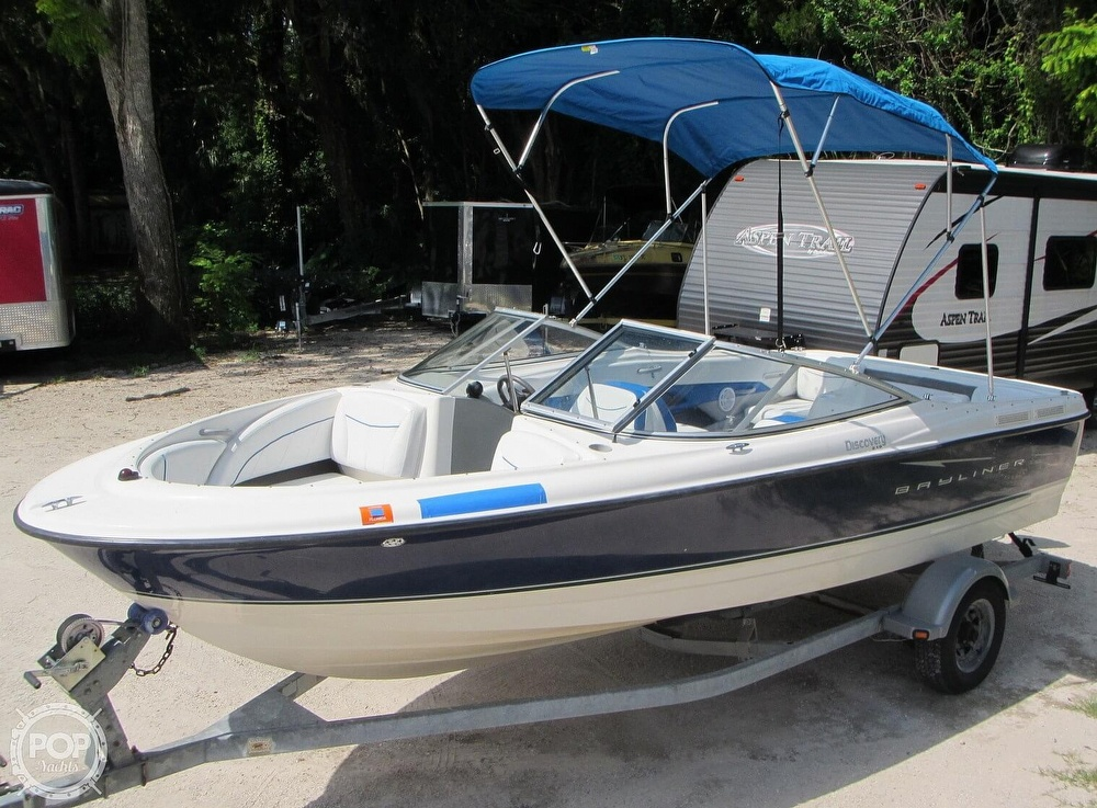 2007 BAYLINER DISCOVERY 215 BOWRIDER