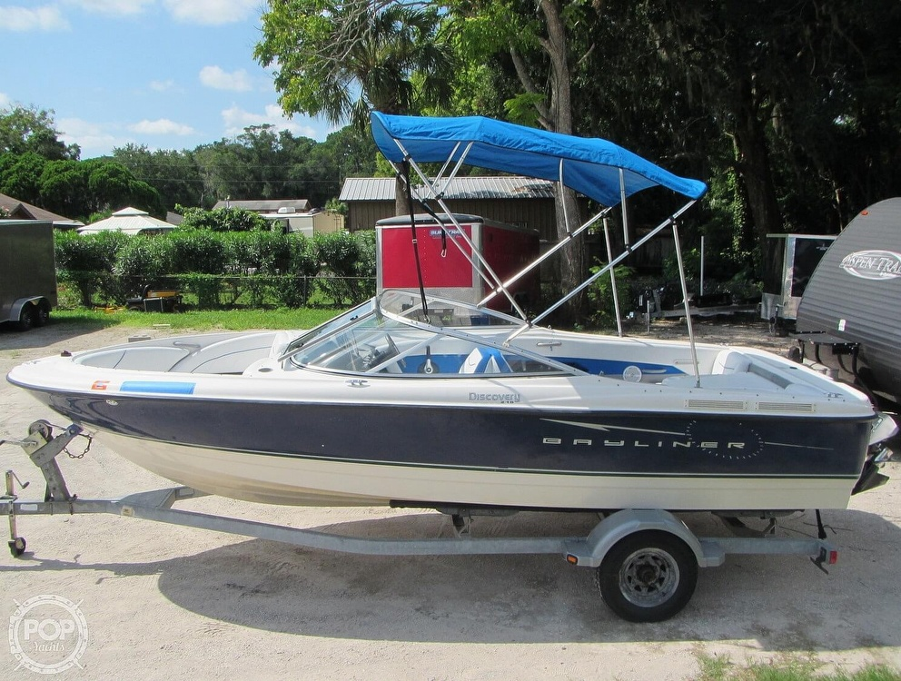 2007 Bayliner boat for sale, model of the boat is Discovery 215 & Image # 14 of 40
