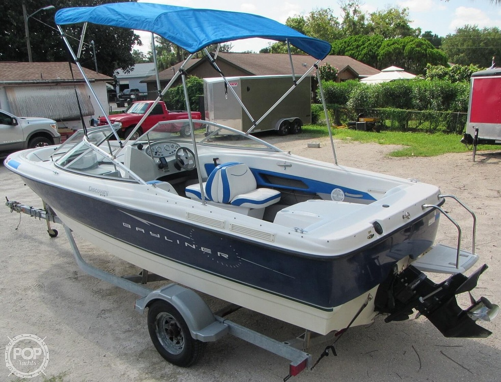 2007 Bayliner boat for sale, model of the boat is Discovery 215 & Image # 15 of 40