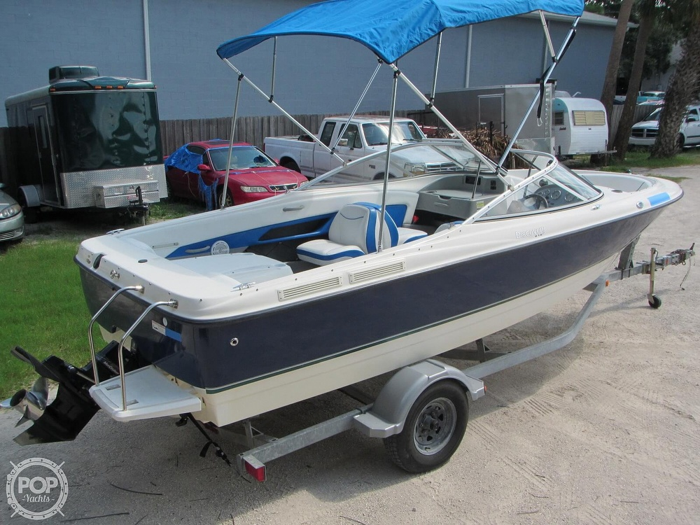 2007 Bayliner boat for sale, model of the boat is Discovery 215 & Image # 17 of 40