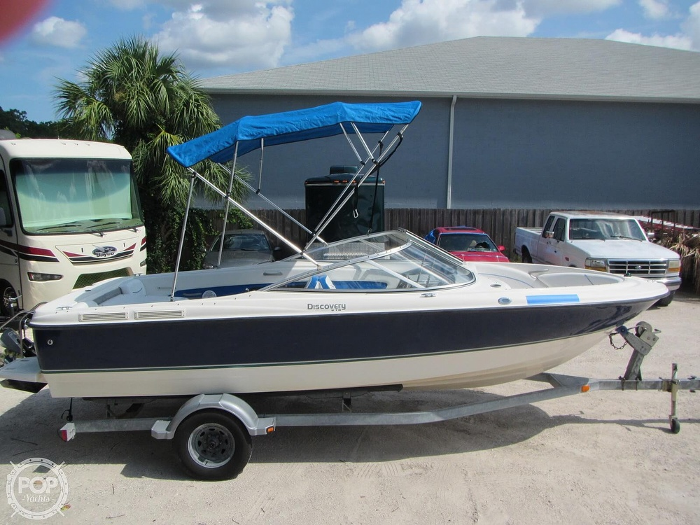 2007 Bayliner boat for sale, model of the boat is Discovery 215 & Image # 18 of 40