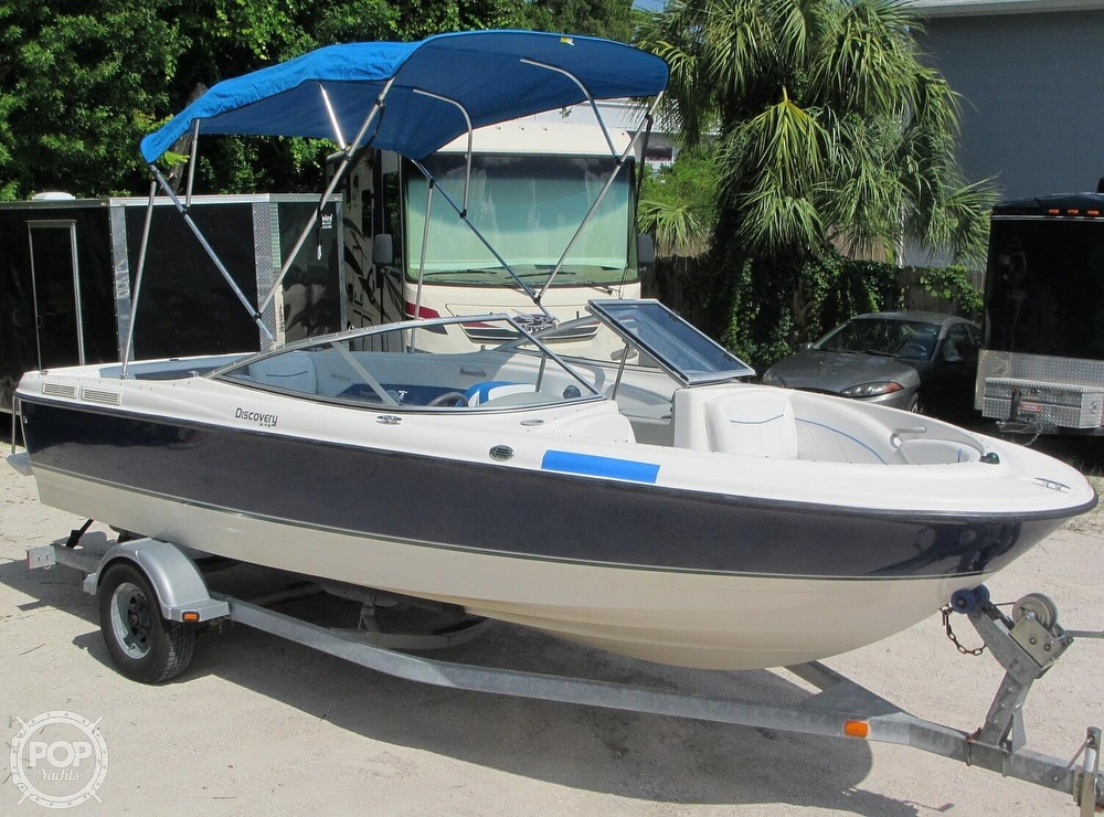 2007 Bayliner boat for sale, model of the boat is Discovery 215 & Image # 19 of 40