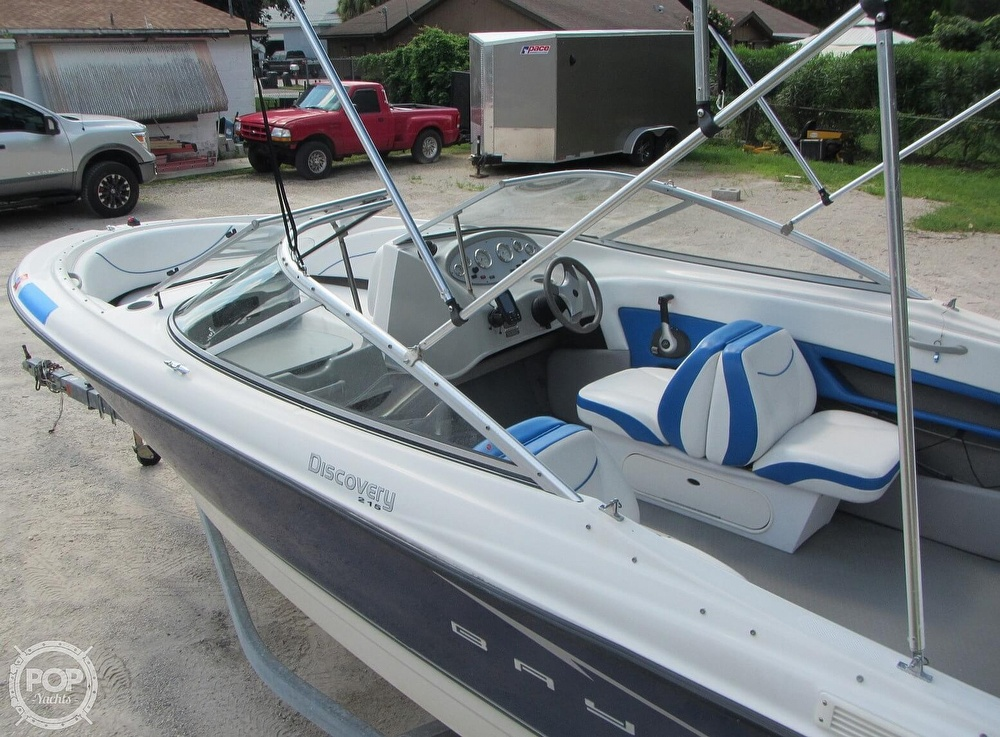2007 Bayliner boat for sale, model of the boat is Discovery 215 & Image # 23 of 40