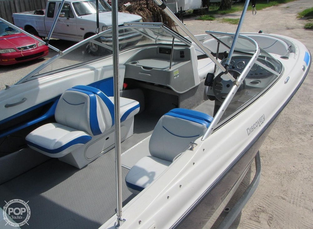 2007 Bayliner boat for sale, model of the boat is Discovery 215 & Image # 12 of 40