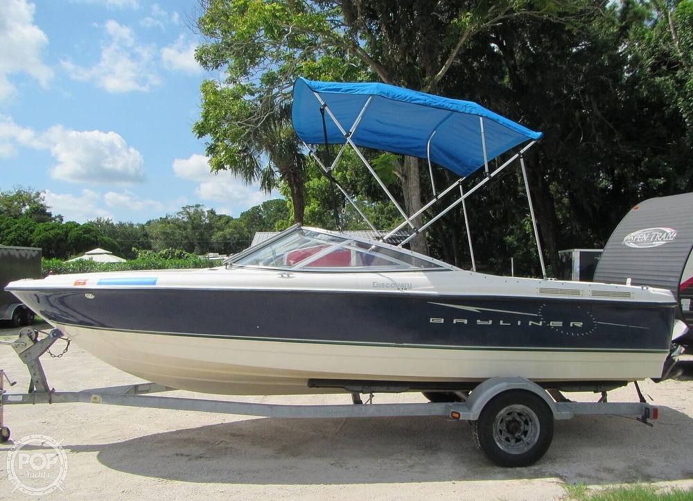 2007 Bayliner boat for sale, model of the boat is Discovery 215 & Image # 27 of 40