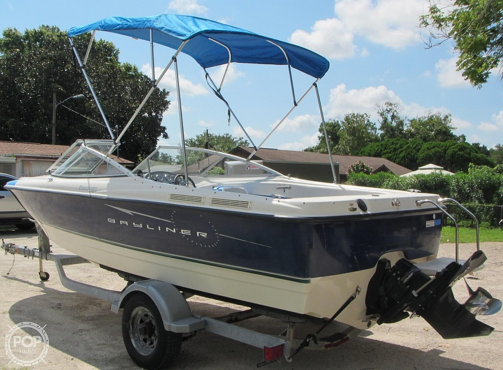 2007 Bayliner boat for sale, model of the boat is Discovery 215 & Image # 28 of 40