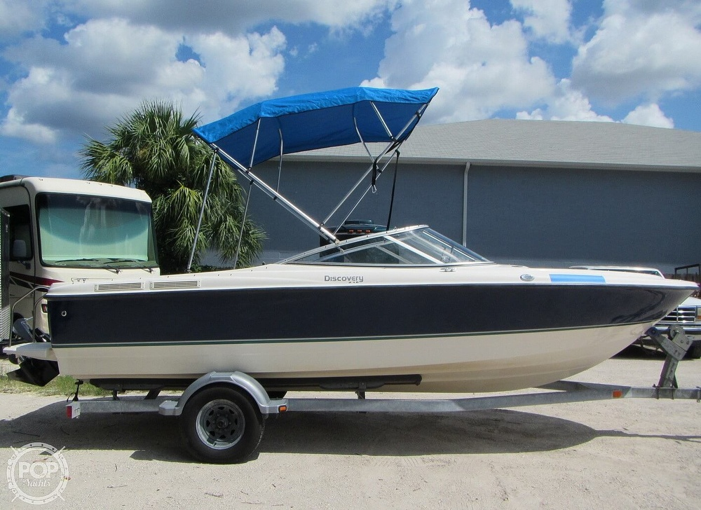 2007 Bayliner boat for sale, model of the boat is Discovery 215 & Image # 40 of 40