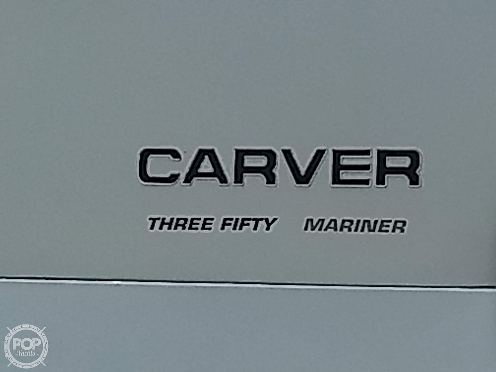 2000 Carver boat for sale, model of the boat is 350 Mariner & Image # 7 of 40