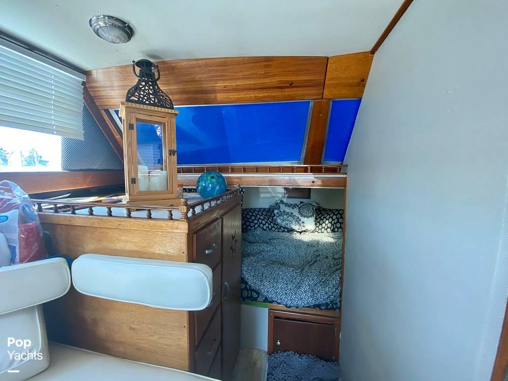 1975 Marinette boat for sale, model of the boat is 32 Sedan & Image # 25 of 40