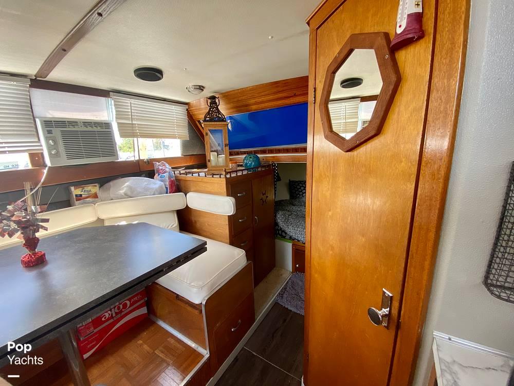 1975 Marinette boat for sale, model of the boat is 32 Sedan & Image # 28 of 40