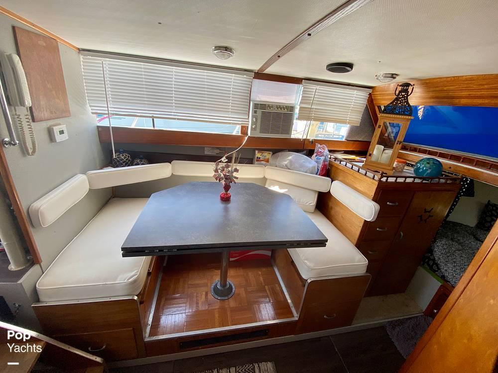 1975 Marinette boat for sale, model of the boat is 32 Sedan & Image # 34 of 40