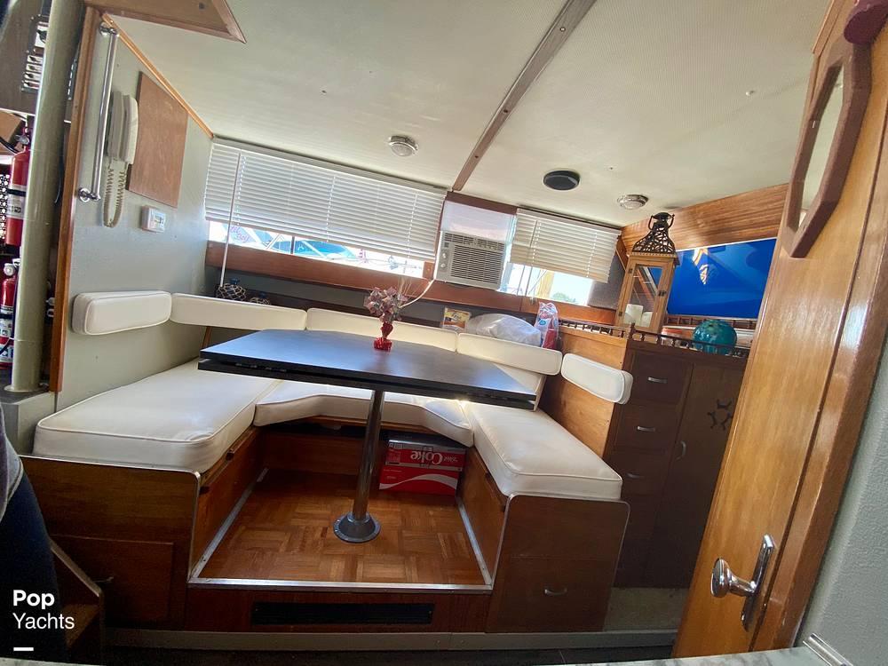 1975 Marinette boat for sale, model of the boat is 32 Sedan & Image # 35 of 40